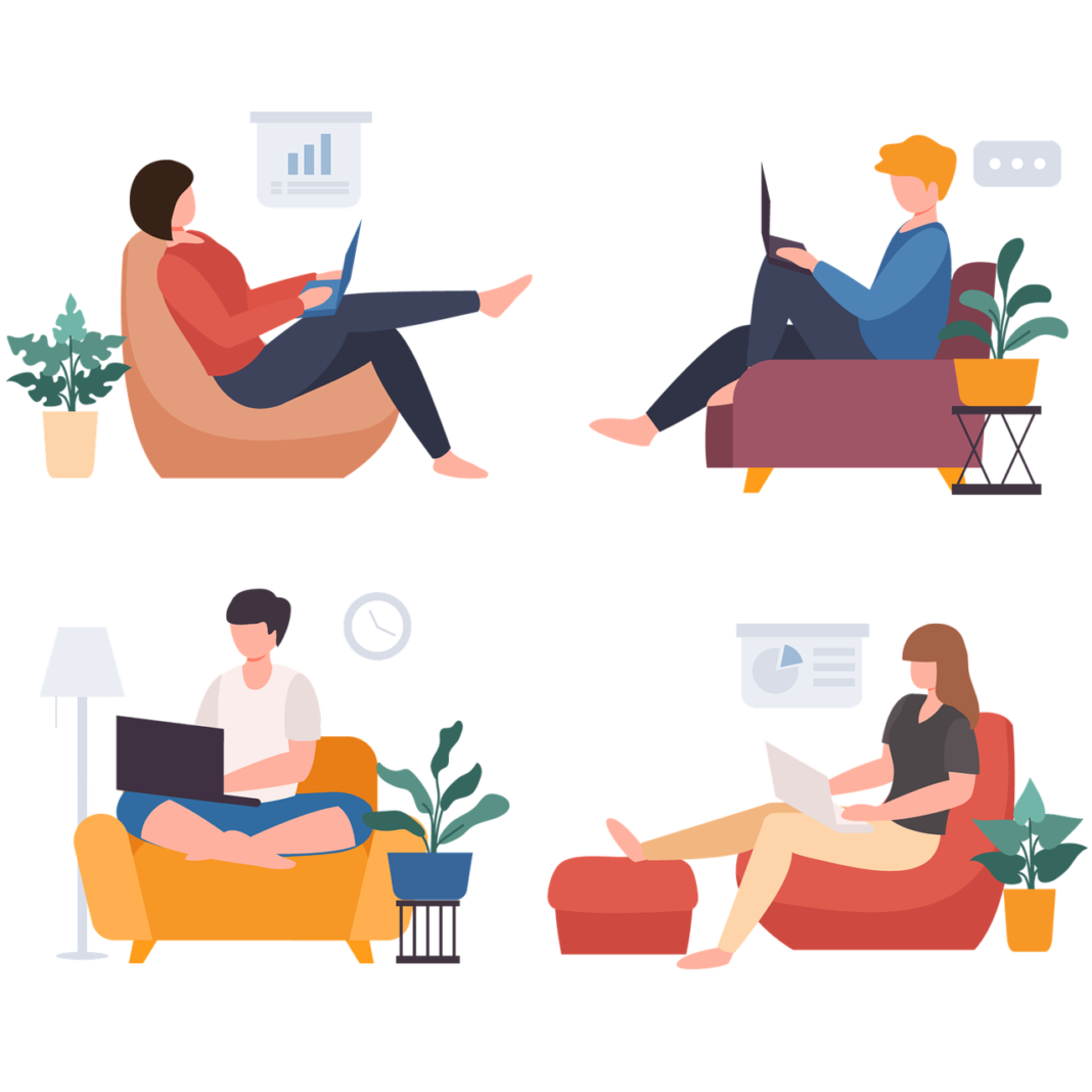 remote work environments.