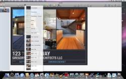 iWorks Keynote screen shot