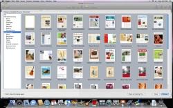 iWork templates screen shot