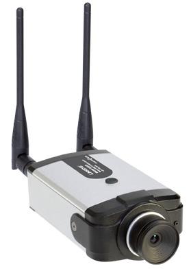 Linksys Wireless-G Business Internet Video Camera with Audio (model WVC2300).