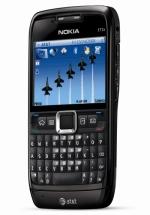 Nokia E71 smartphone screenshot