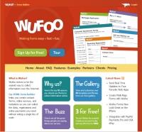 Wufoo html form builder screenshot