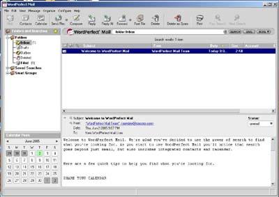 WordPerfect Mail