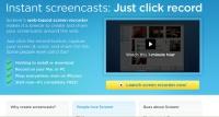 Screenr.com; Web tools
