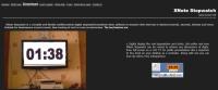 XNoteStopWatch screen shot; Web tools