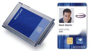 ActivCard PCMCIA Reader