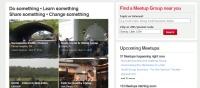 Meetup.com; Web tools, small business marketing