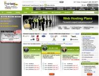 GoDaddy.com screenshot; web marketing, small business website