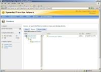 Symantec Online Backup screen shot