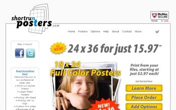 ShortrunPosters.com; Web resources, Web tools