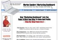 Marlon Sander's Marketing Dashboard; small business marketing