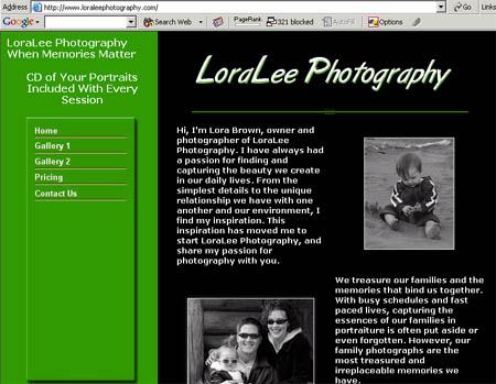LoraLeePhotography.com