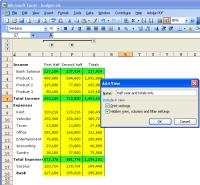 Excel Outline screenshot