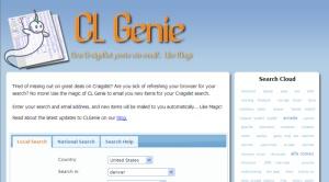 CLGenie.com; web tools