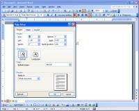Word formatting screen shot