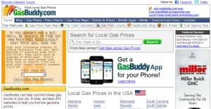 GasBuddy.com; Web tools