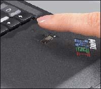 Lenovo ThinkPad with fingerprint reader