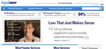 LegalZoom.com; Web tools; small business software