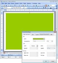 page setup screen shot