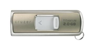 SanDisk's Cruzer Titanium 2GB U3 Drive