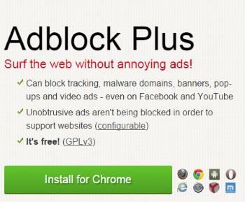 AdblockPlus browser plugin