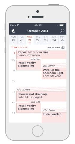 Breezeworks mobile business app