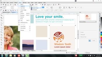 CorelDraw X7 Graphics software: Layout