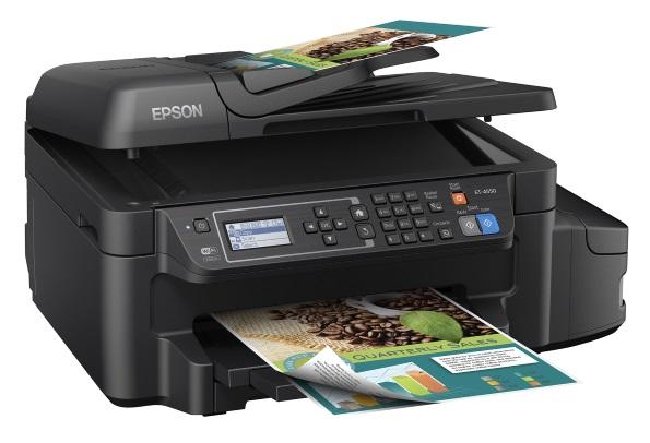 Small business multifunction printers: Epson ET-4550 EcoTank