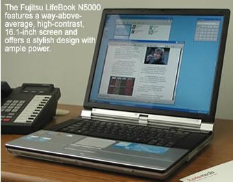 Fujitsu LifeBook N5000 Review