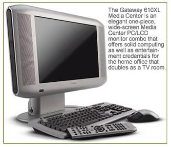 Gateway 610XL Media Center