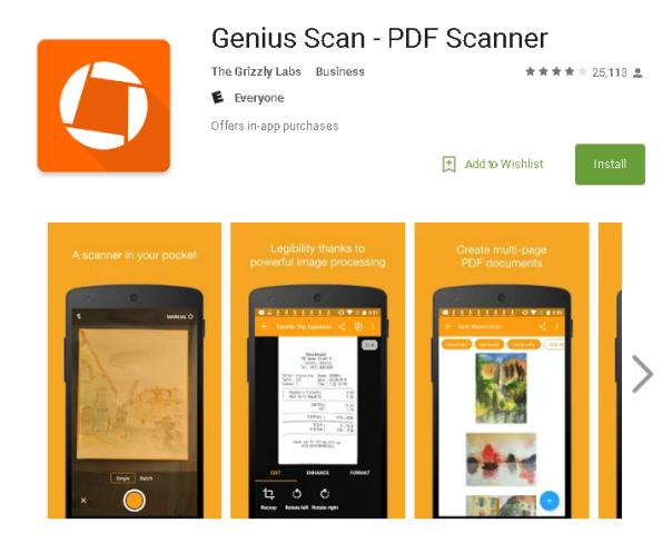Best mobile scannning apps
