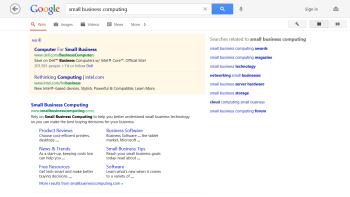 Google Search Windows 8 App