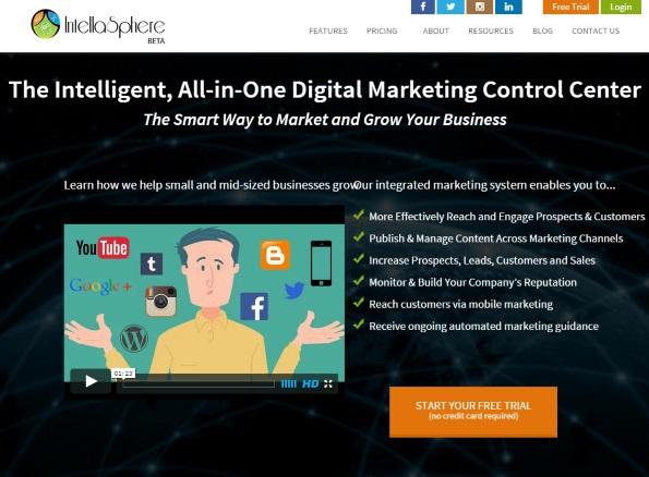 Intellasphere: small business social media marketing platform