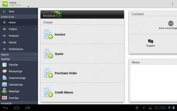 Invoice2Go Finance app