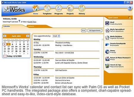 Microsoft Works Suite