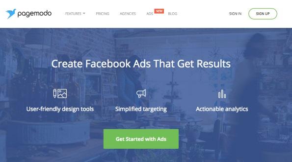 Vistaprint's Pagemodo Social Ads tool for Facebook