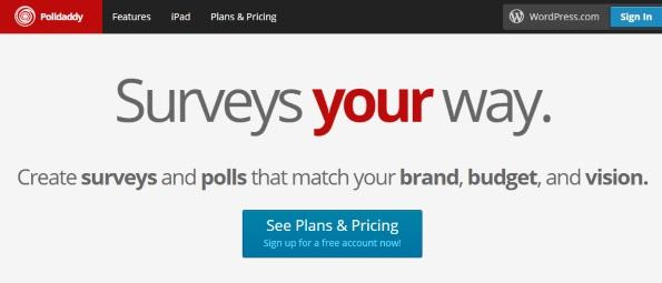 Small business marketing: Polldaddy
