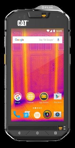 Bullitt Mobile Caterpillar S60 rugged phone