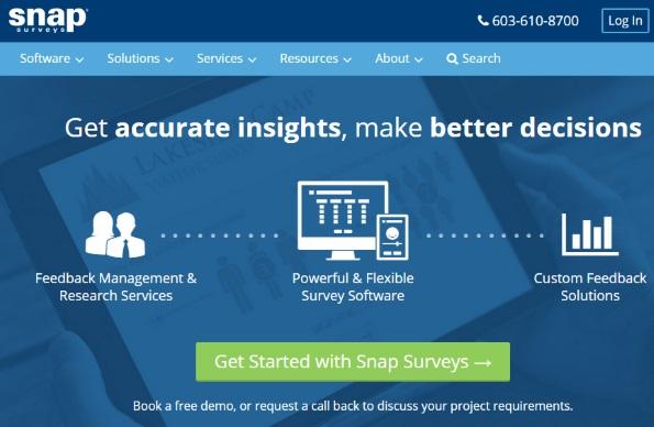 Small business marketing: SnapSurvey