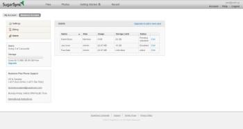 SugarSync for Business; cloud storage service