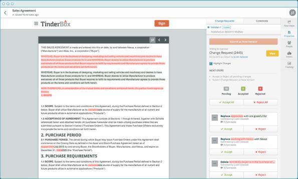 TinderBox small business sales tool