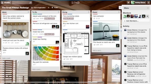 Trello: project management app