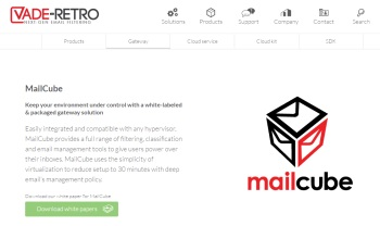 Vade Retro: small business email management tools