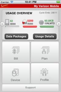 My Verizon Mobile app