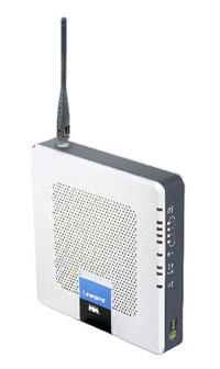 Linksys Wireless-G Media Storage Link Router