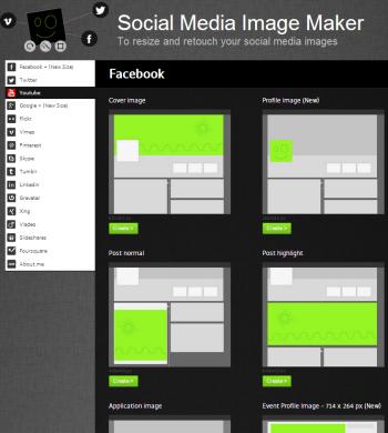 Share Image As: social media graphics tool