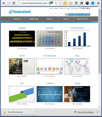 Brainshark PowerPoint design tool