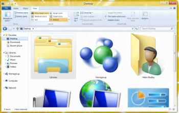Windows 8 Explorer