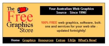 Free Graphics Store
