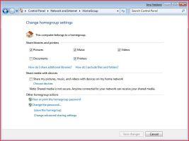 Windows 7 - Wireless Configuration Choices